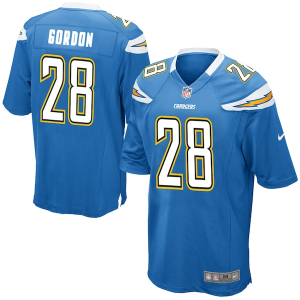 Men's Los Angeles Chargers Melvin Gordon III Nike  Manti Te'o game jersey